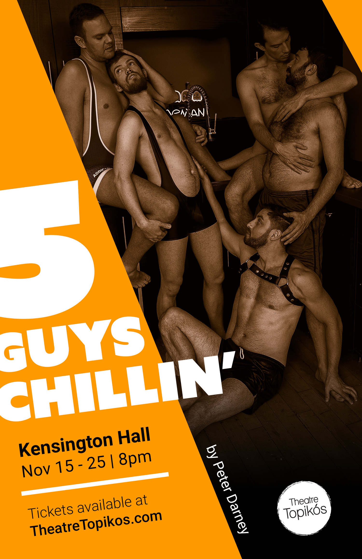 5 GUYS CHILLIN' Make Canadian Debut at Kensington Hall
