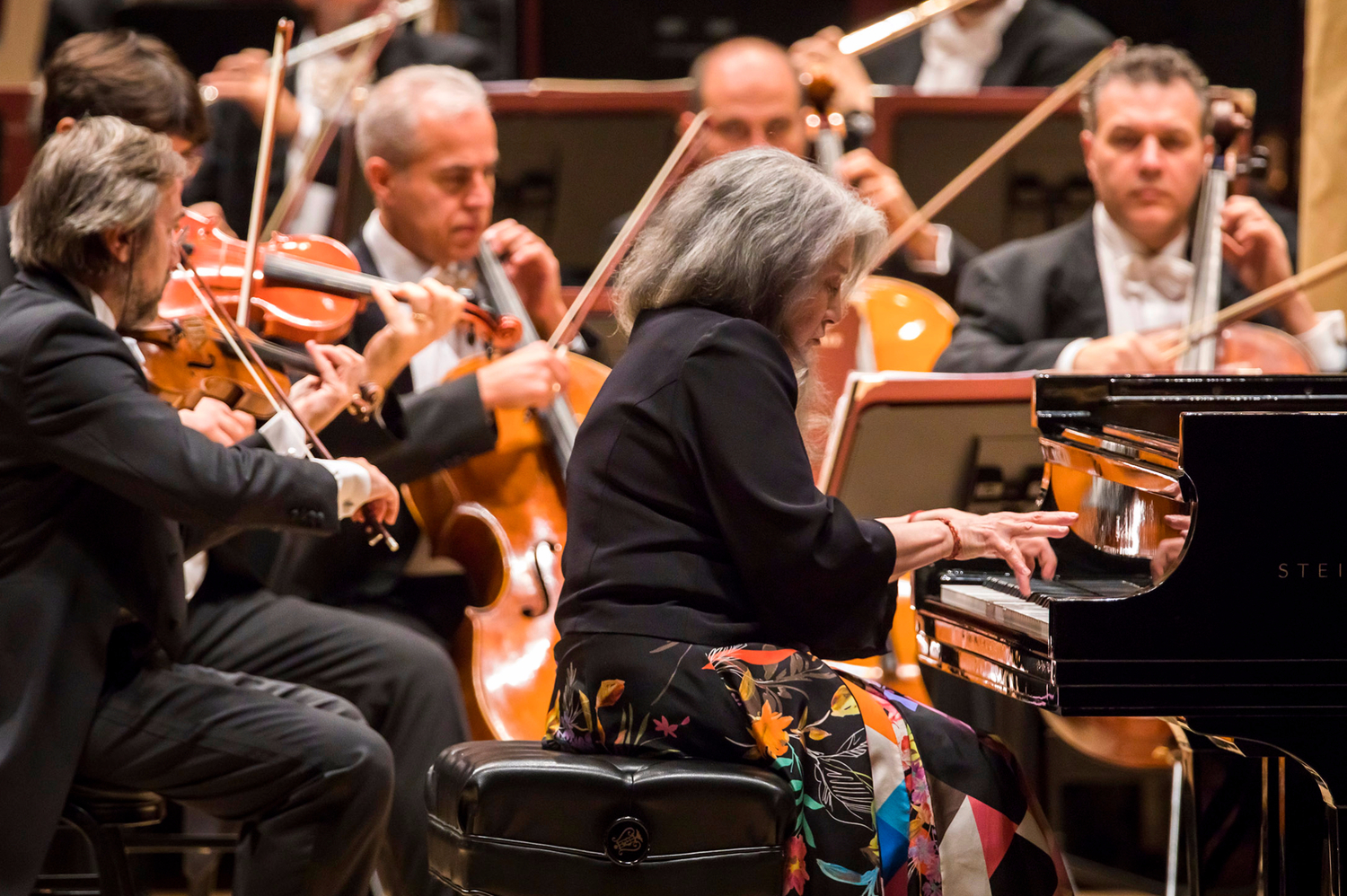 Review Roundup: Martha Argerich Returns To Carnegie Hall After Nine Years