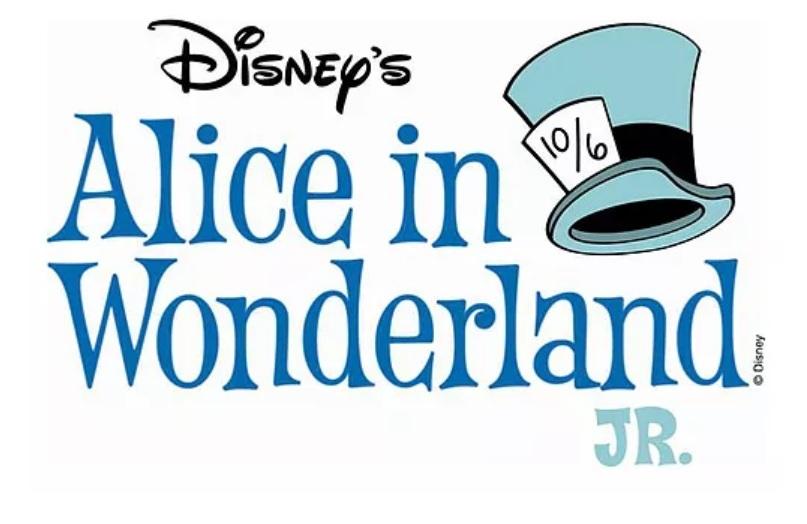 ALICE IN WONDERLAND JR. Beings At Casper Children's Theatre 4/28