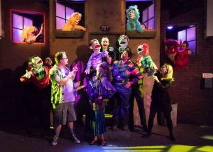"""BWW Review: """"Special"""" AVENUE Q at Blank Canvas"""