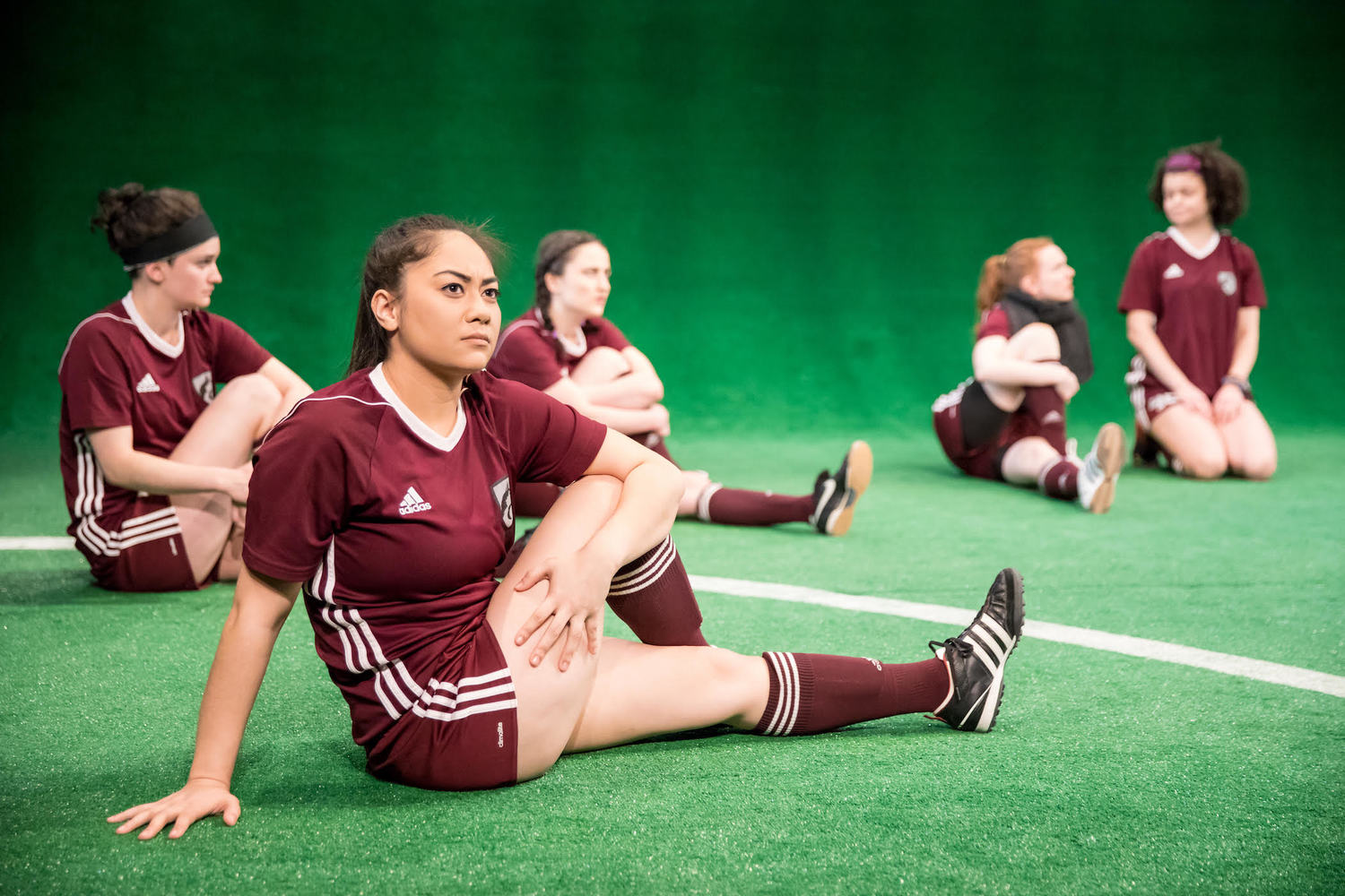 BWW Review: Full On Teen Female Bonding in THE WOLVES at Jungle Theater