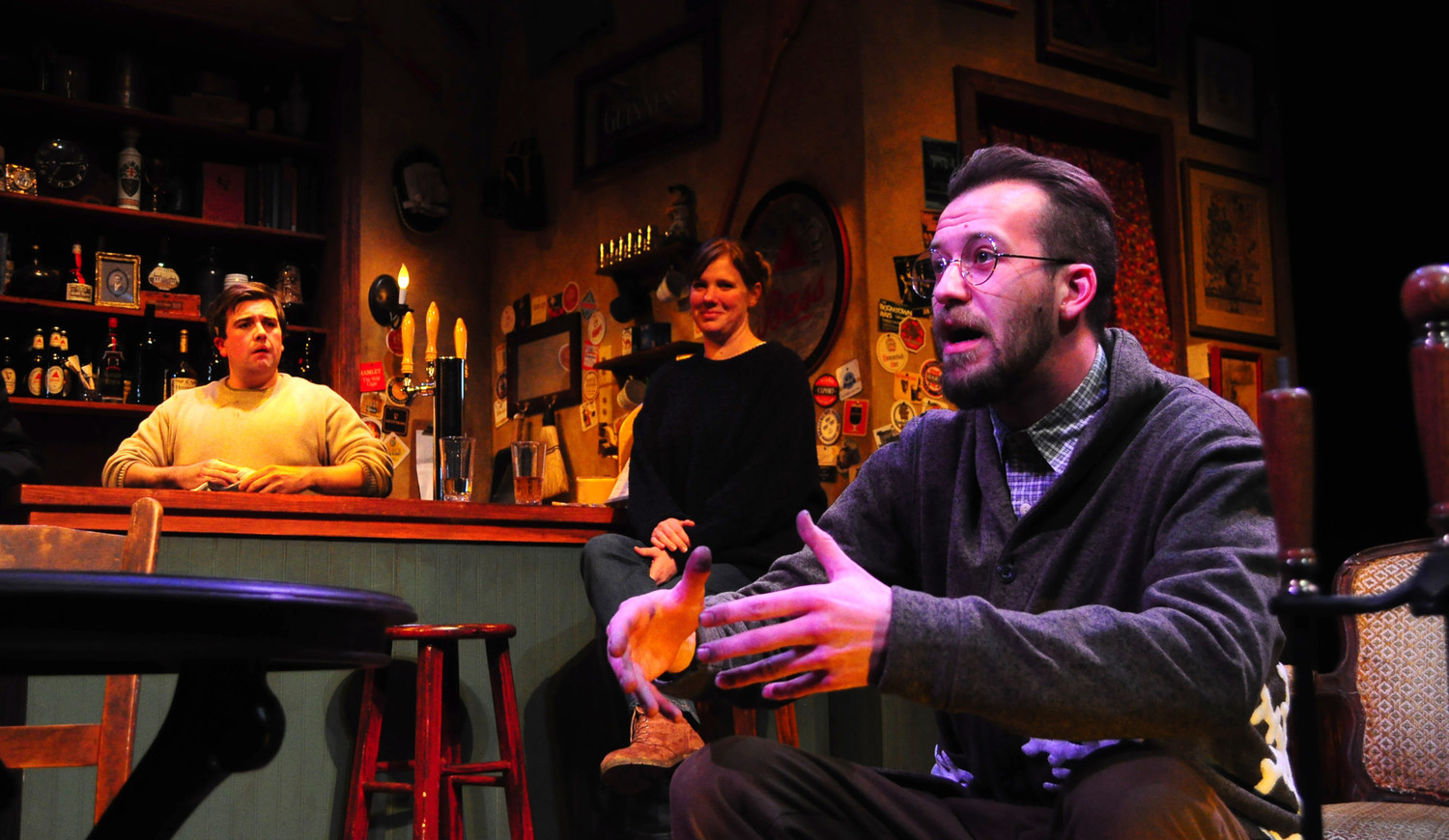 BWW Review: THE WEIR at Burning Coal Theatre Stirs Up Haunting Tale of Woe