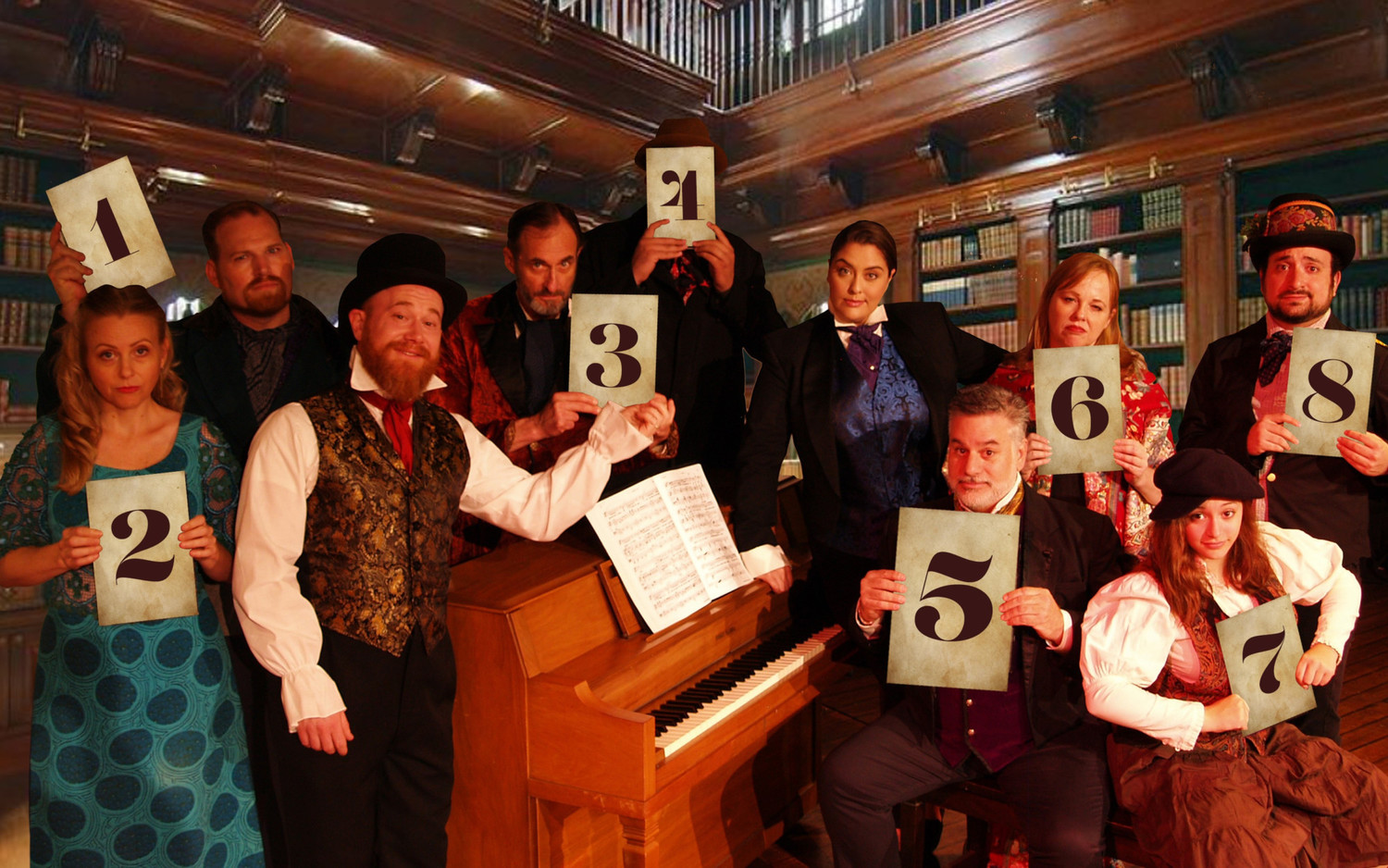 BWW Review: THE MYSTERY OF EDWIN DROOD THRILLS AND DELIGHTS NOW THRU NOV. 11 at 3Below