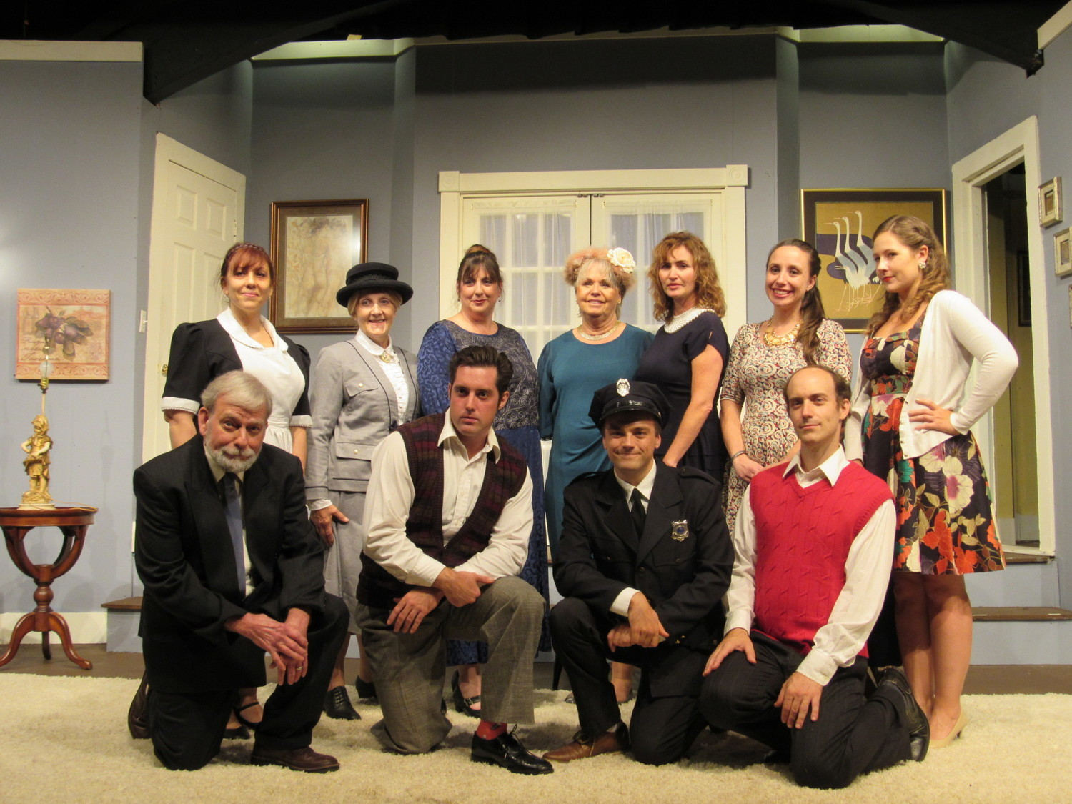 BWW Review: A MURDER IS ANNOUNCED at Granite Theatre