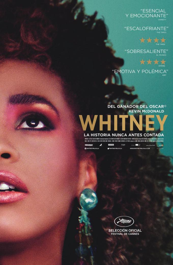 WHITNEY: LA HISTORIA NUNCA ANTES CONTADA llega hoy a los cines