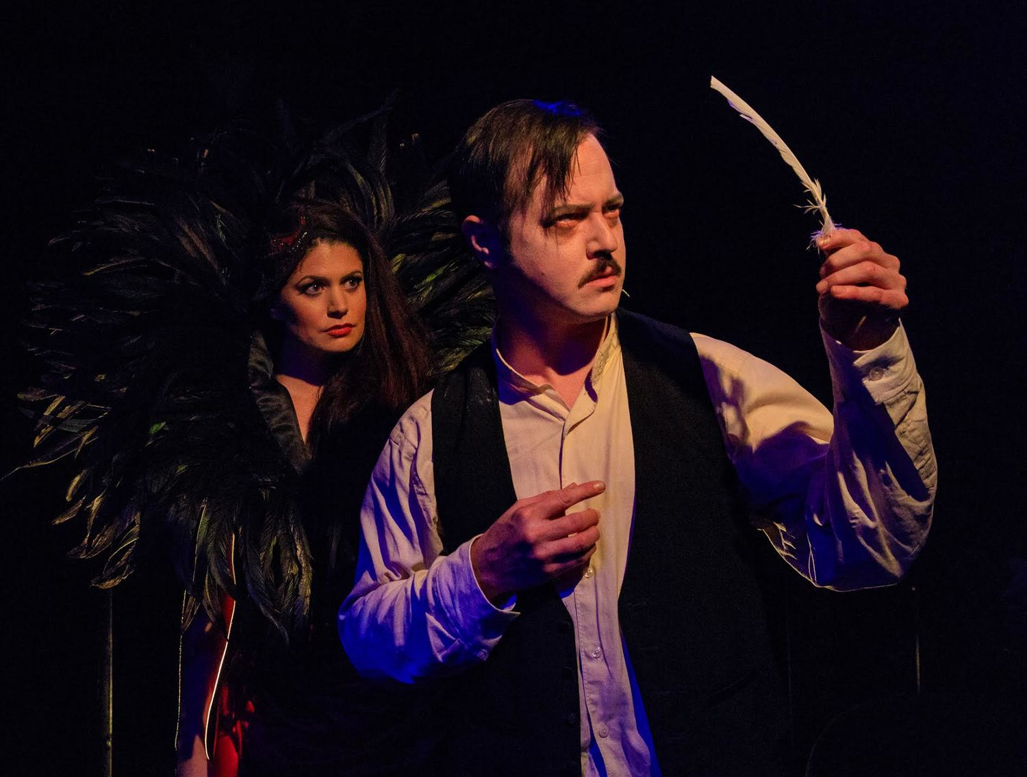 BWW Review: Chilling Edgar Allan Poe Musical NEVERMORE Returns to Creative Cauldron for October