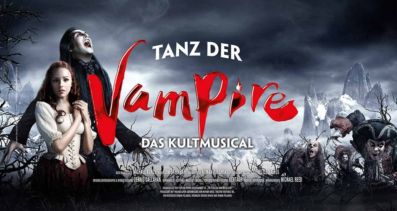 20th-Anniversary Production of DANCE OF THE VAMPIRES Comes back to Vienna Through Today