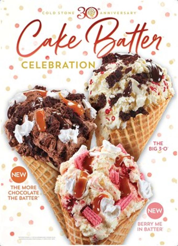Cake Batter Ganache Ice Cream