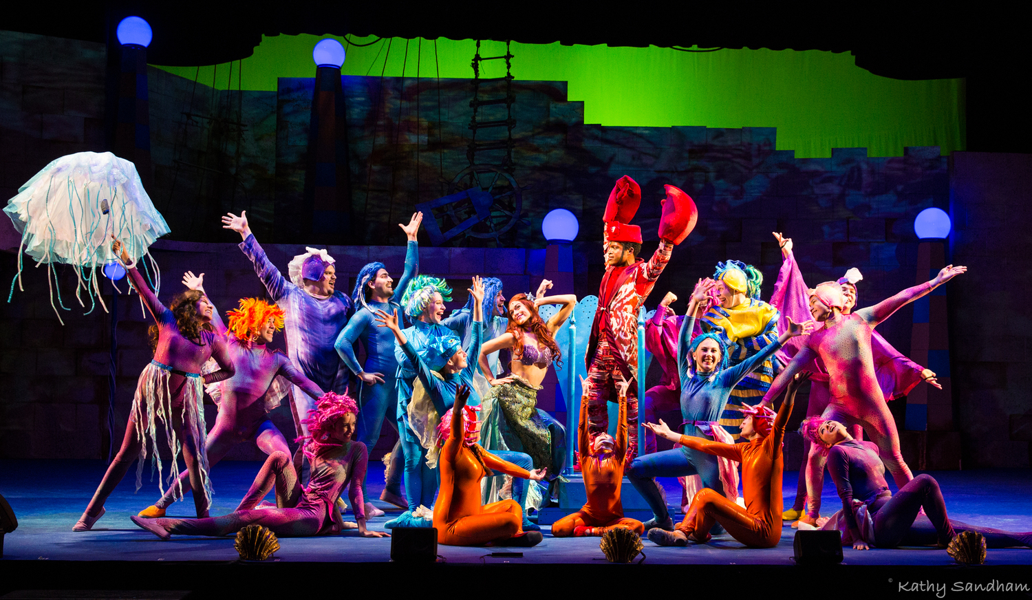 "BWW Review: ""THE LITTLE MERMAID"" Goes Under The Sea Again at the Beck Center"