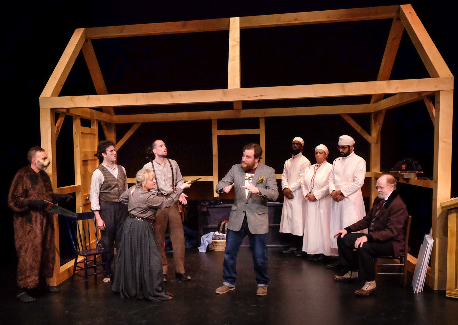 BWW Review: Smart, Funny PlayMakers' Premiere of 'Bewilderness' is a Mind Trip into the Psyche of Henry David Thoreau (and Zack Fine)