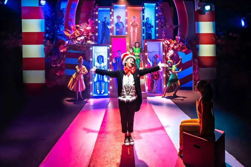 Image result for seussical, southwark playhouse