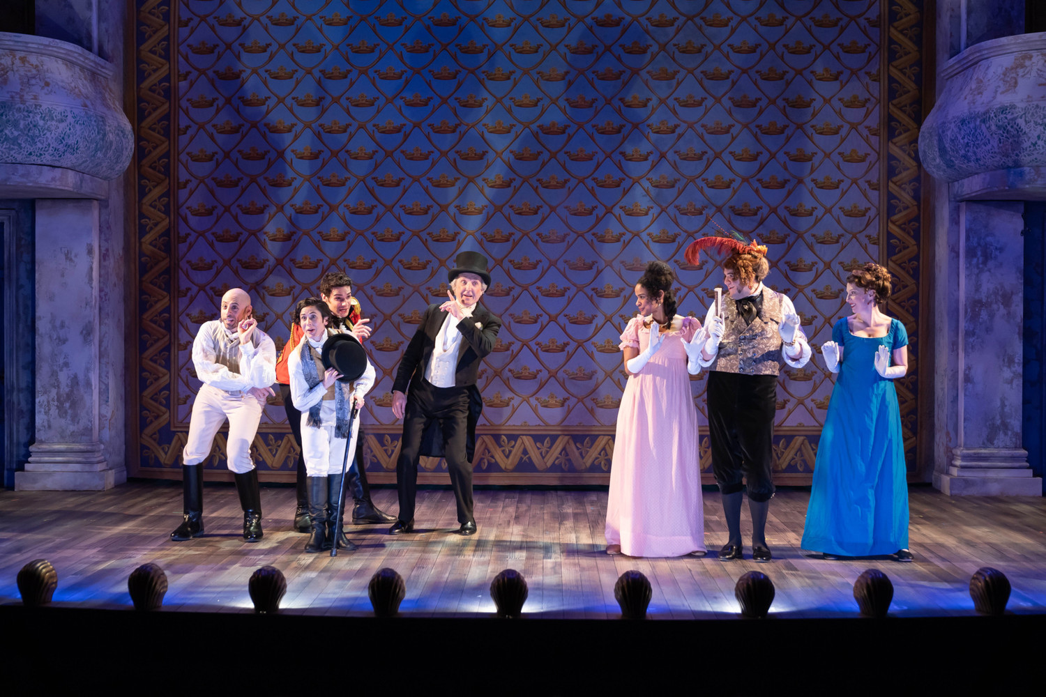 BWW Review: VANITY FAIR at American Conservatory Theatre Company presents Vanity Fair, William Thackery's 19th century exploration of female conventions and ambition.