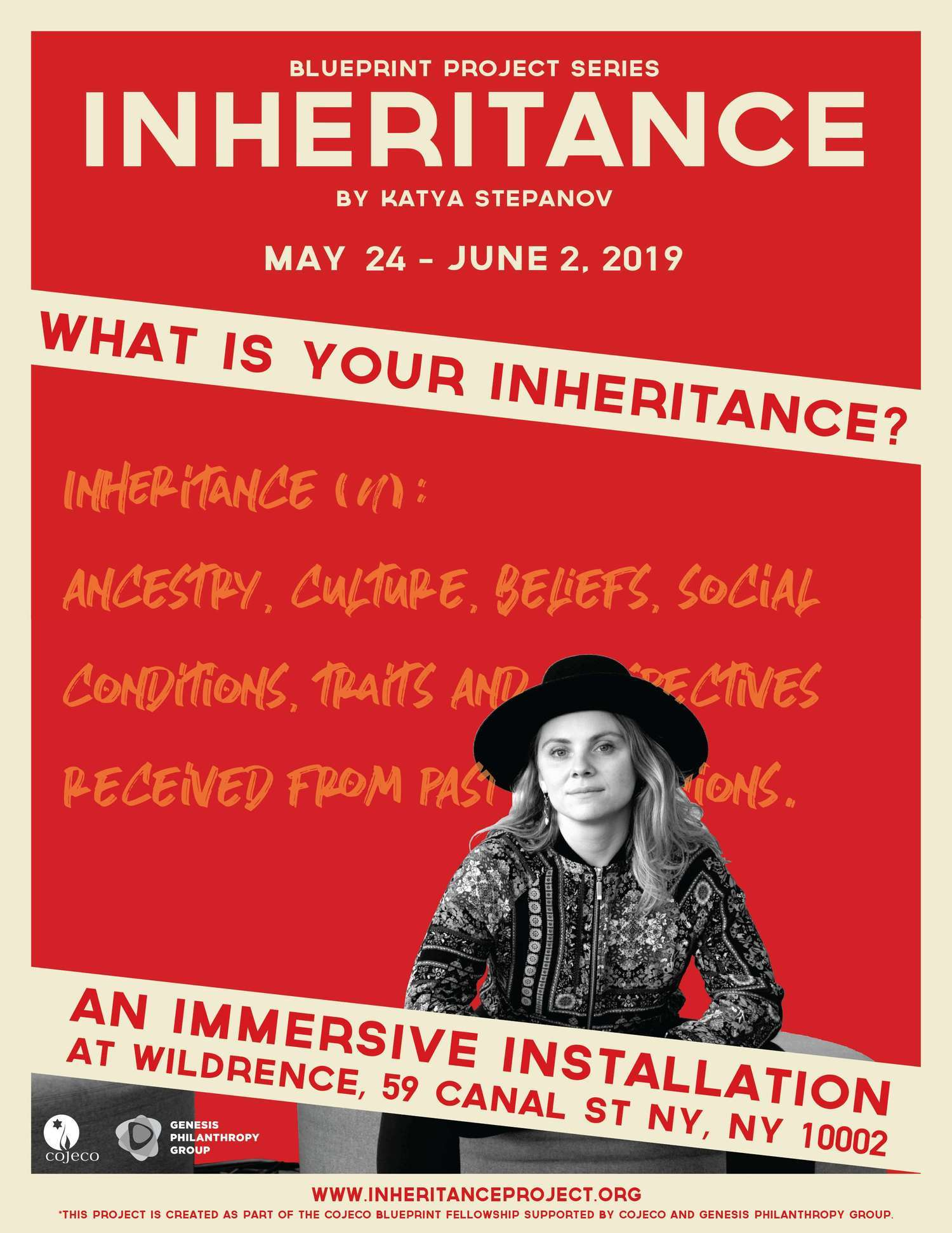 INHERITANCE, An Immersive Installation & Performance Invites You To Explore What Makes You You