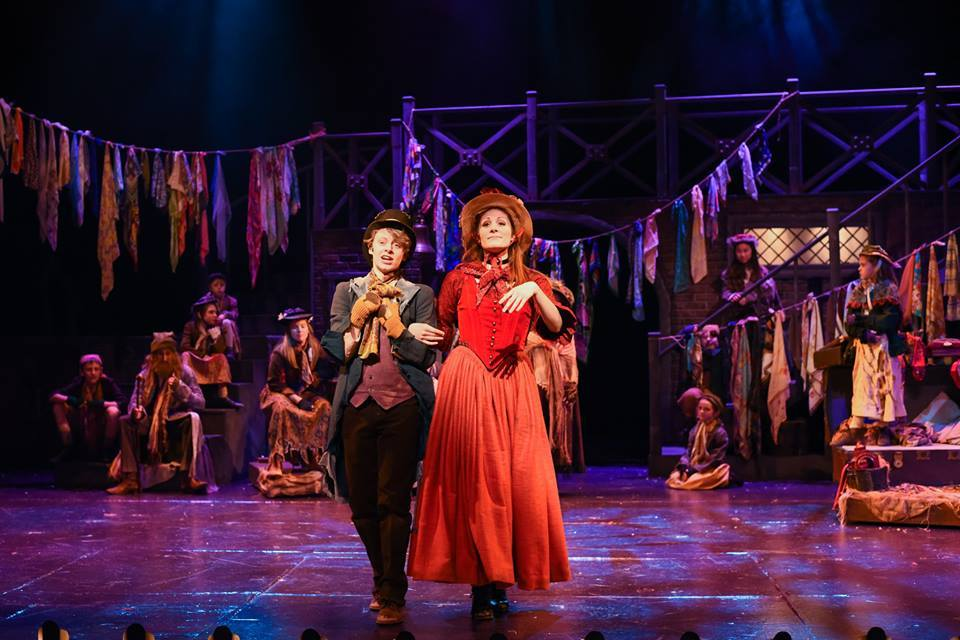 Bww Review Oliver At Greenville Theatre Is A Must See
