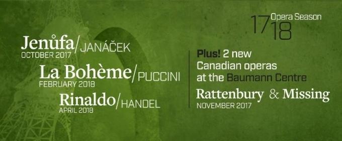 Pacific Opera Victoria To Present Puccini's La Boheme