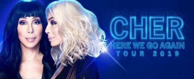 Cher Announces HERE WE GO AGAIN Tour Dates