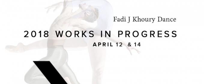 FJK Dance Presents UNTOLD - WORKS IN PROGRESS At Gibney Dance Center NYC April 12 And April 14