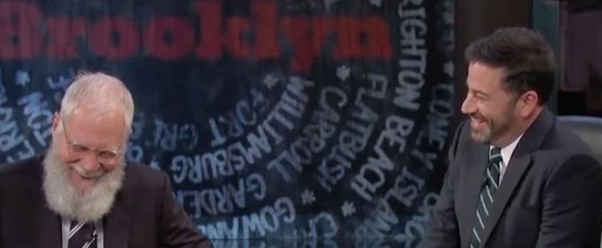 VIDEO: David Letterman Brings the Laughs to JIMMY KIMMEL's Week in Brooklyn