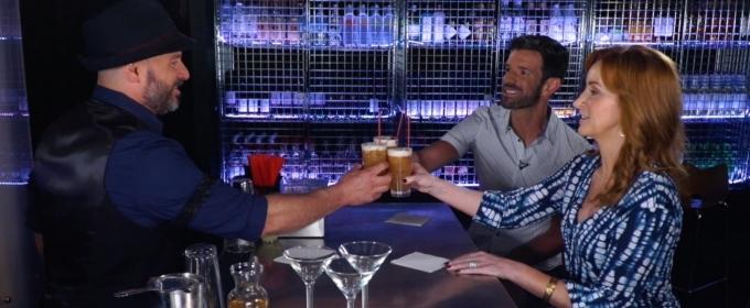 BWW TV Exclusive: Jane Cooke and Tony Gonzalez Toast MAMMA MIA! on BROADWAY BARTENDER!
