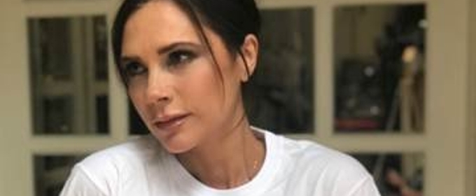 Victoria Beckham Designs Limited Edition Spice Girls T-Shirt For Red Nose Day