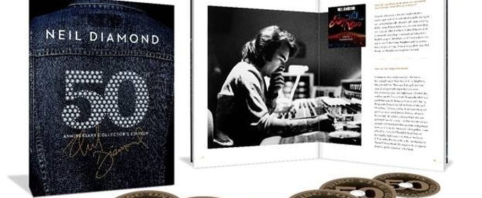 Capitol/UMe to Release NEIL DIAMOND – 50TH ANNIVERSARY COLLECTOR'S EDITION