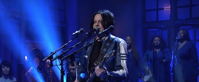 VIDEO: Watch Jack White Perform OVER AND OVER AND OVER On SATURDAY NIGHT LIVE