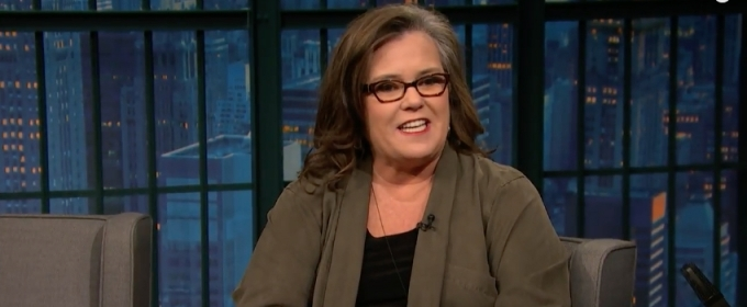 VIDEO: Rosie O'Donnell Talks Nerves, Learning Lines Off-Broadway on LATE NIGHT