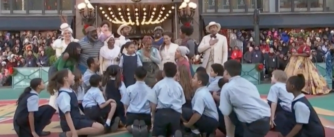 VIDEO: ONCE ON THIS ISLAND Cast Performs on Thanksgiving Day Parade!