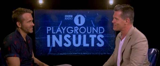 VIDEO: Watch DEADPOOL 2's Ryan Reynolds & Josh Brolin Play Playground Insults