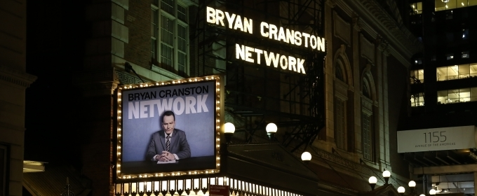 Up on the Marquee: NETWORK on Broadway!