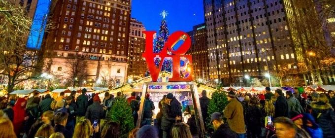 Christmas Village Philadelphia.Christmas Village In Philadelphia To Return To Love Park For