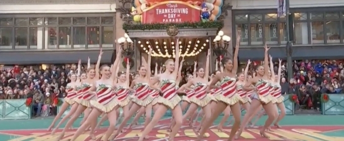 VIDEO: Watch the Radio City Rockettes on the Thanksgiving Day Parade