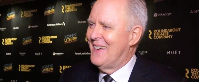 BWW TV: John Lithgow Tells His Story on Opening Night of STORIES BY HEART!