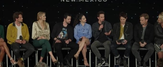 The CW Shares ROSWELL, NEW MEXICO 'Michael Trevino - Speaking Of Nice Guys' Clip