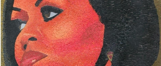 Art Bureau Mosaic Portrait Of Michelle Obama Is On View In Harlem By Artist Lennox Commissiong At Dwyer For Harlem Week