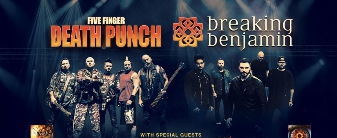 Breaking Benjamin Five Finger Punch Tour Tickets On Sale Friday 3 16