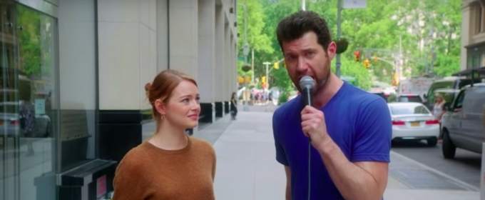 VIDEO: Billy ON THE STREET Returns with Emma Stone