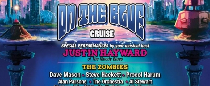 On The Blue Cruise Announced, Inaugural Classic Rock Cruise Hosted by Justin Hayward