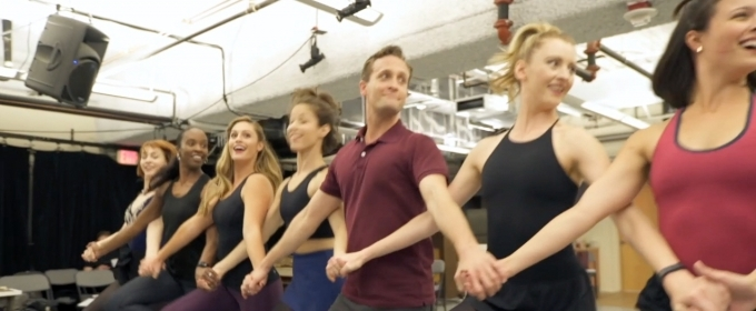 BWW TV: Cast of CRAZY FOR YOU Gets Tap-Happy in Rehearsal at D.C.'s Signature Theatre