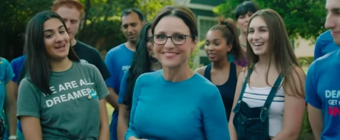 VIDEO: Julia Louis-Dreyfus Encourages Democrats to Vote and Volunteer in New PSA