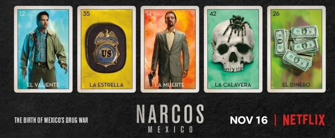 Narcos: México Temporada 1 Espa&ntildeol y Vose Disponible