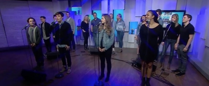 The Cast of DEAR EVAN HANSEN Toronto Sings 'You Will Be Found'