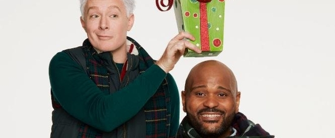 Ruben Studdard Clay Aiken Ring in the Holidays on Broadway