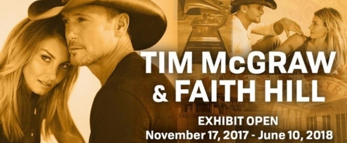 Country Music Hall of Fame Announces Details for Tim McGraw and Faith Hill Exhibit
