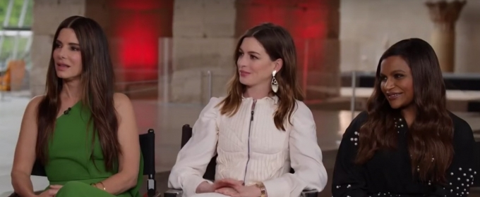 VIDEO: The Stars of OCEANS 8 Discuss the Challenges Women in Hollywood Face on TODAY