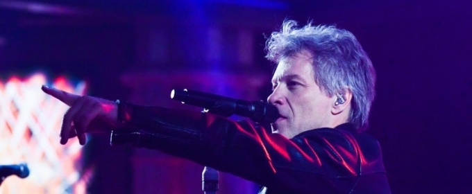 VIDEO: Bon Jovi Performs 'You Give Love A Bad Name' on LATE NIGHT