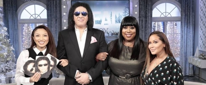 Sneak Peek - Pop Icon Gene Simmons Visits THE REAL Today