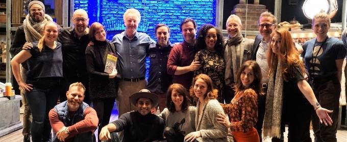 Photo Flash: Original MERRILY WE ROLL ALONG Cast Members Visit Roundabout Production