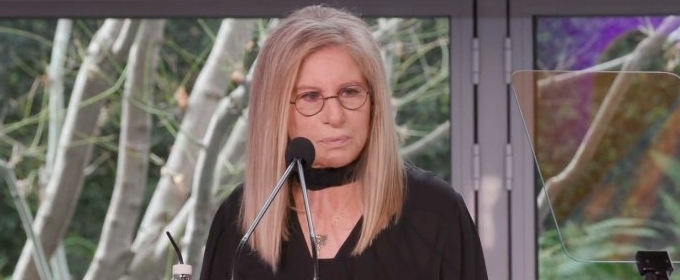 Barbra Streisand Delivers the Keynote at the UCLA Anderson's Women's Leadership Summit