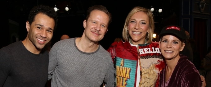 Photo Coverage: Erica Mansfield Receives the Legacy Robe For KISS ME, KATE!